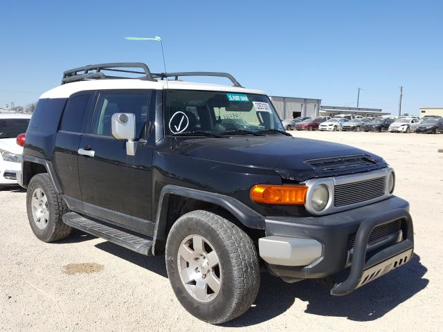 Salvage cars for sale from Copart San Antonio, TX: 2007 Toyota FJ Cruiser