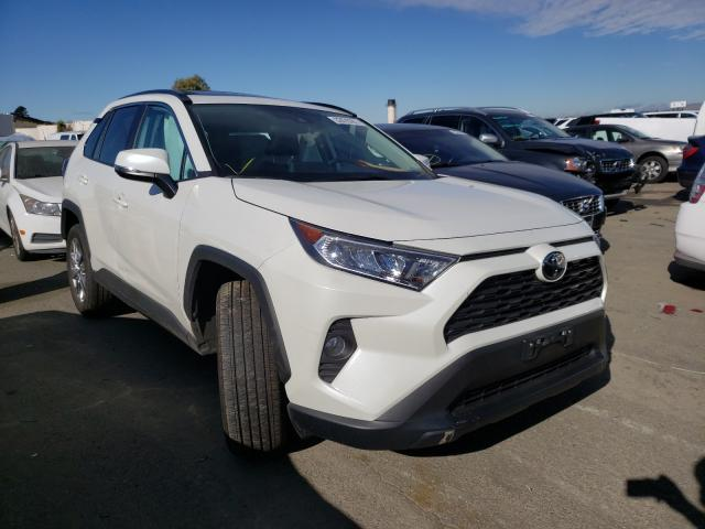 Salvage cars for sale from Copart Martinez, CA: 2021 Toyota Rav4 XLE P