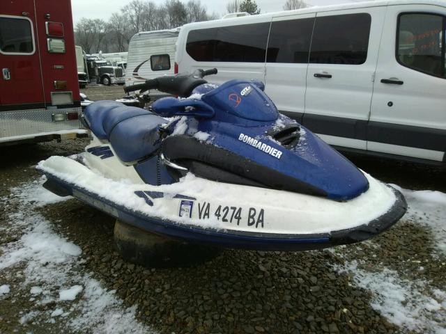 Salvage cars for sale from Copart Chatham, VA: 2002 Seadoo GTX RFI