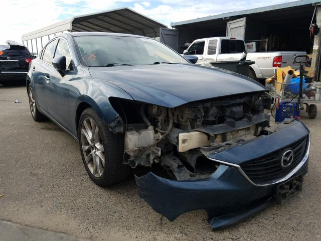 Mazda salvage cars for sale: 2014 Mazda 6 Touring