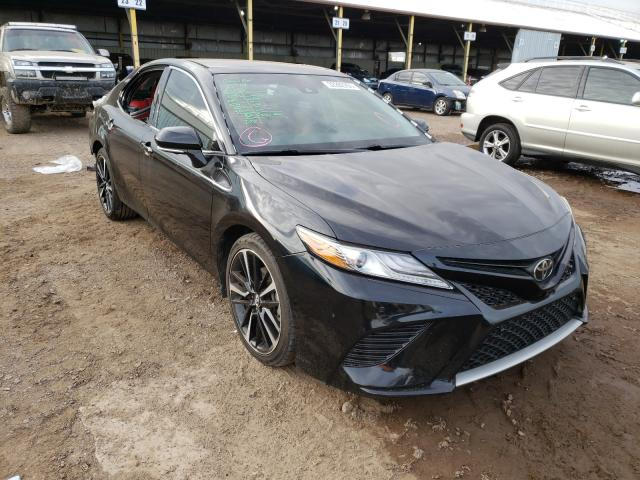 Salvage cars for sale from Copart Phoenix, AZ: 2018 Toyota Camry XSE