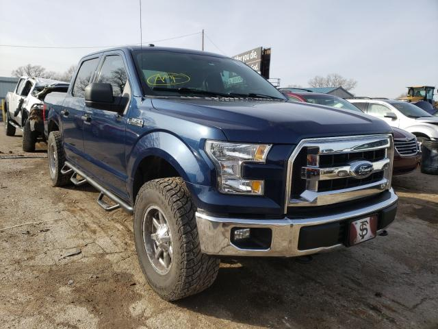 Salvage cars for sale from Copart Wichita, KS: 2016 Ford F150 Super