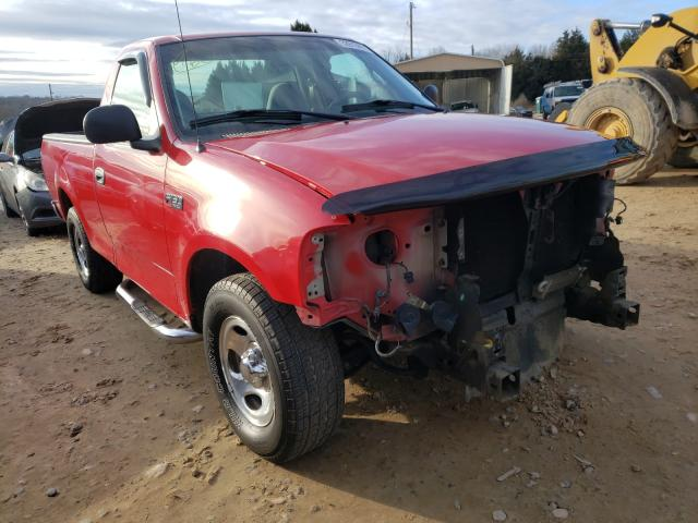 Salvage cars for sale from Copart China Grove, NC: 2000 Ford F150