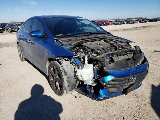 Salvage cars for sale from Copart Temple, TX: 2017 Hyundai Elantra SE