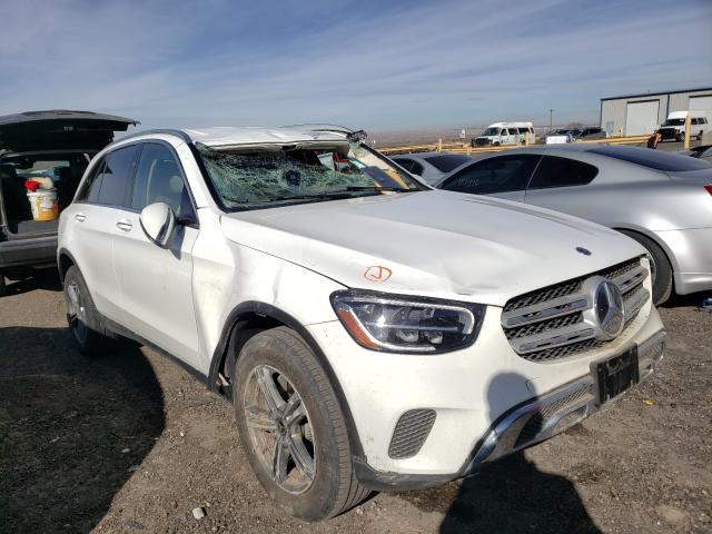 Salvage cars for sale at Albuquerque, NM auction: 2020 Mercedes-Benz GLC 300