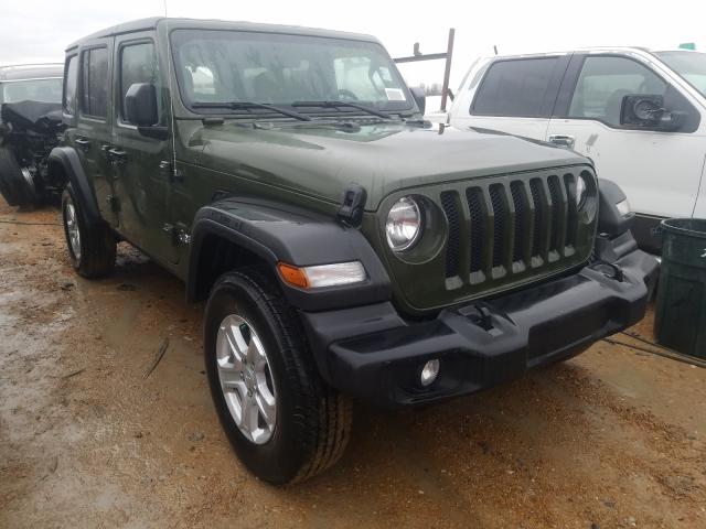 Salvage cars for sale from Copart Bridgeton, MO: 2021 Jeep Wrangler U
