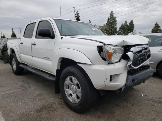 Salvage cars for sale from Copart Rancho Cucamonga, CA: 2015 Toyota Tacoma DOU