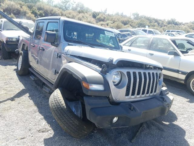 Salvage cars for sale from Copart Reno, NV: 2020 Jeep Gladiator