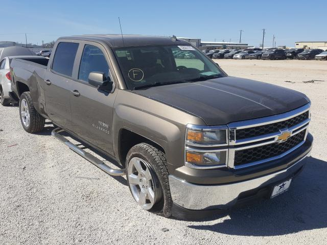 Salvage cars for sale from Copart San Antonio, TX: 2014 Chevrolet Silverado