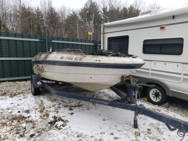 Salvage cars for sale from Copart Candia, NH: 2004 Four Winds Winnsboat