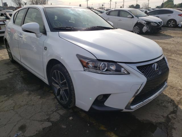 Salvage cars for sale from Copart Los Angeles, CA: 2016 Lexus CT 200