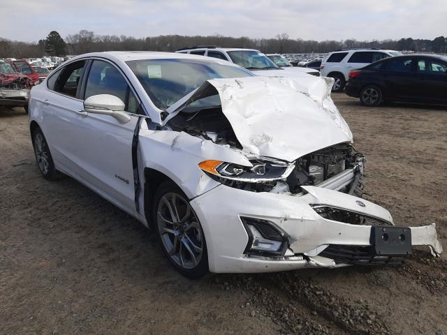 Salvage 2019 FORD FUSION - Small image. Lot 32240631