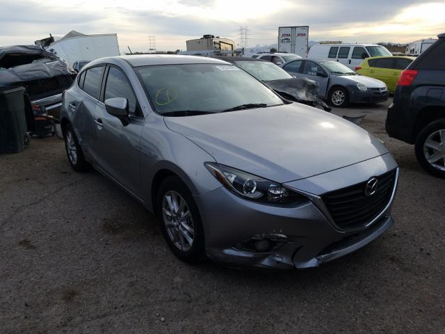 Salvage cars for sale from Copart Tucson, AZ: 2015 Mazda 3 Touring