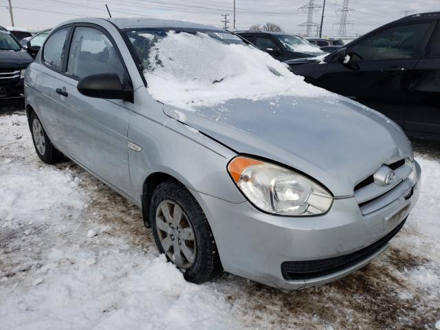 Salvage cars for sale from Copart Elgin, IL: 2009 Hyundai Accent GS