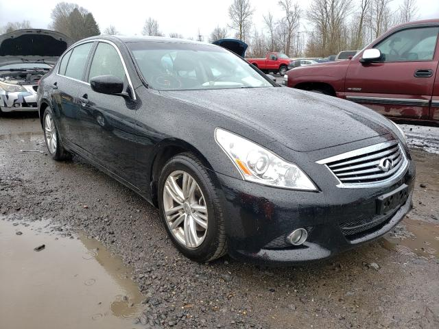 Salvage cars for sale from Copart Portland, OR: 2013 Infiniti G37 Base