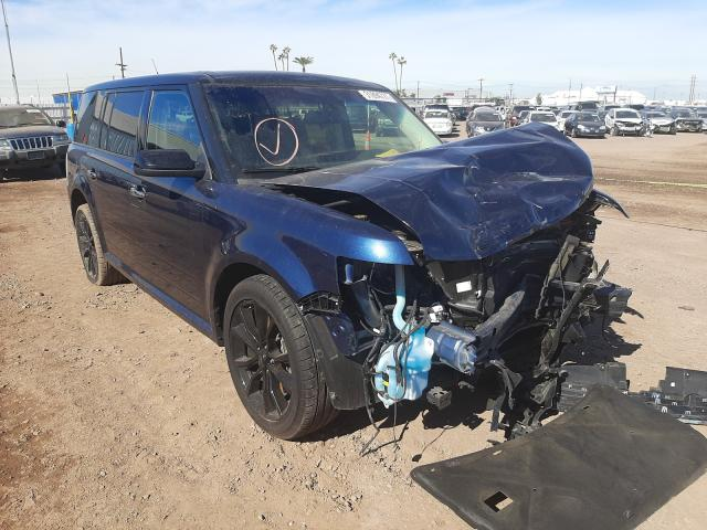 Salvage cars for sale from Copart Phoenix, AZ: 2017 Ford Flex SEL