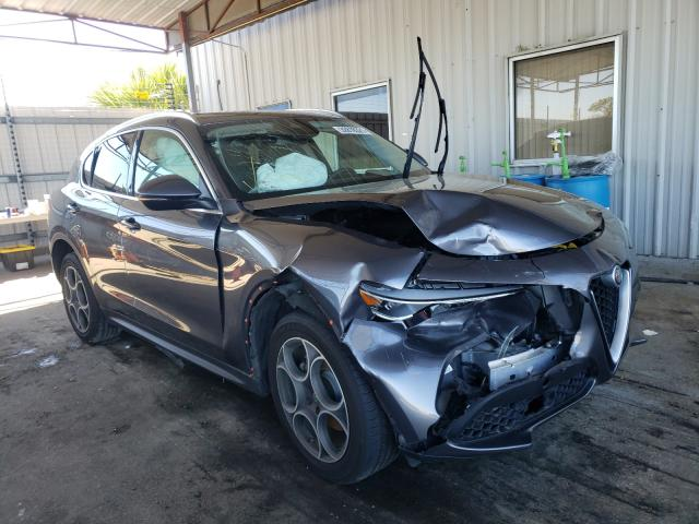 Alfa Romeo salvage cars for sale: 2018 Alfa Romeo Stelvio