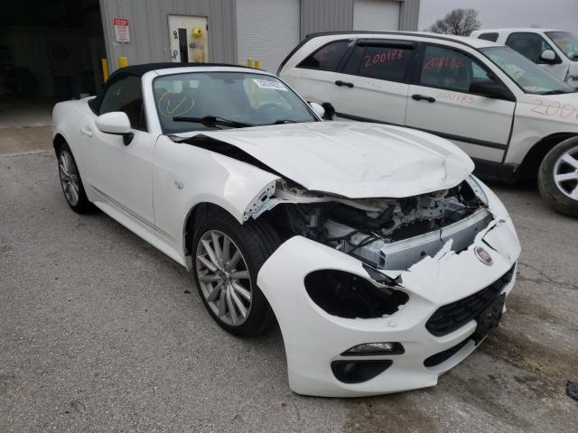 Salvage cars for sale from Copart Rogersville, MO: 2017 Fiat 124 Spider