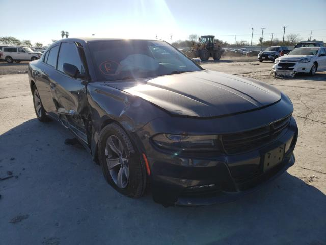 Salvage cars for sale from Copart Corpus Christi, TX: 2017 Dodge Charger SX