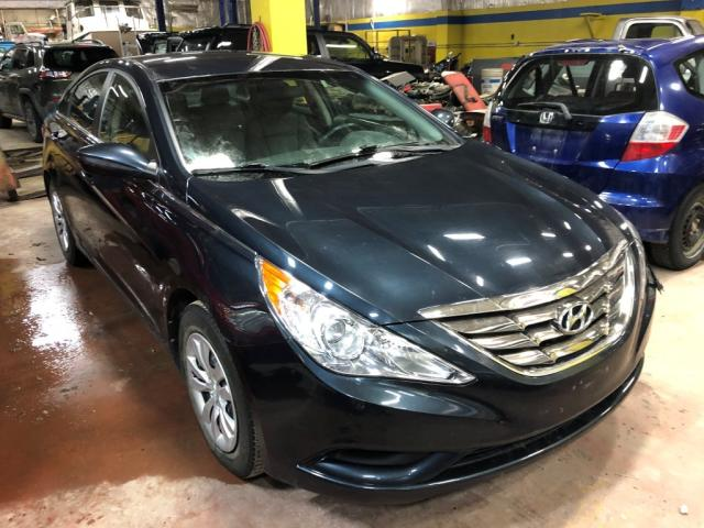 Salvage cars for sale from Copart Rocky View County, AB: 2011 Hyundai Sonata GLS
