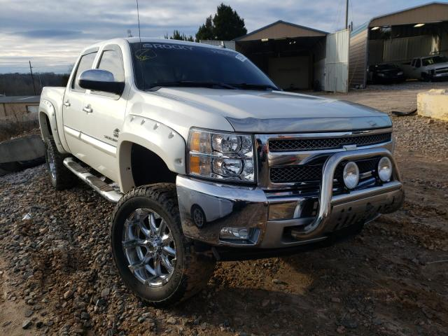 Salvage cars for sale from Copart China Grove, NC: 2012 Chevrolet Silverado