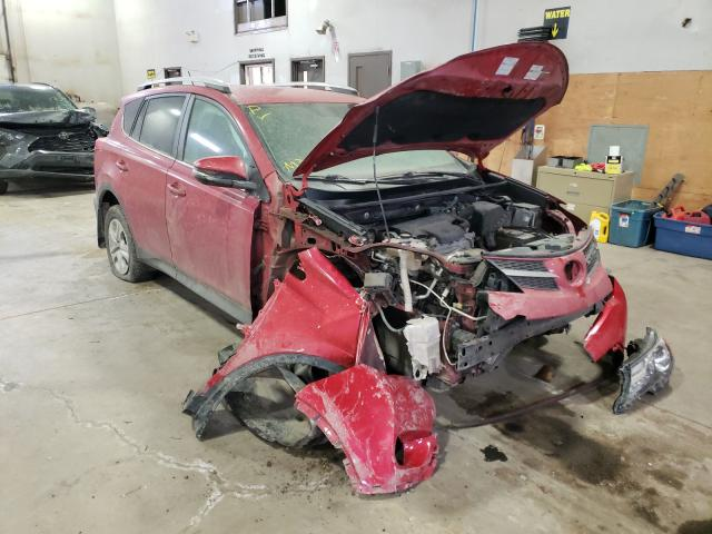 Salvage cars for sale from Copart Atlantic Canada Auction, NB: 2015 Toyota Rav4 LE