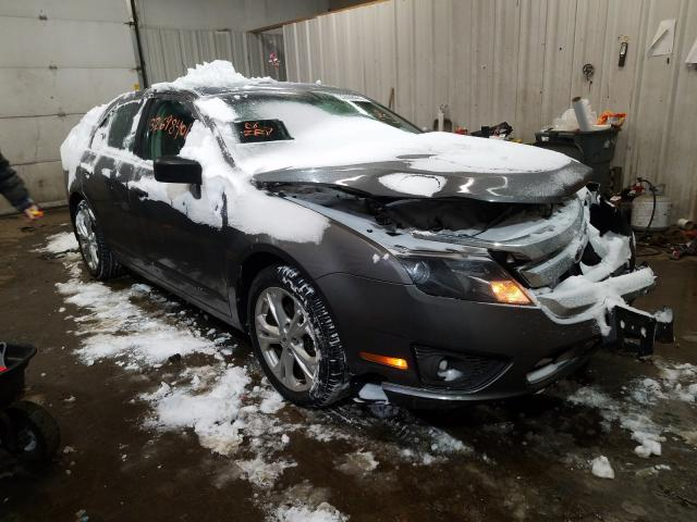 Salvage cars for sale from Copart Lyman, ME: 2012 Ford Fusion SE