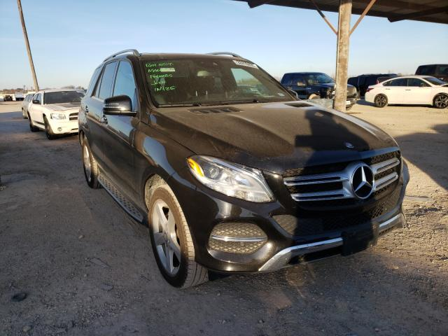 Salvage cars for sale from Copart Temple, TX: 2017 Mercedes-Benz GLE 350