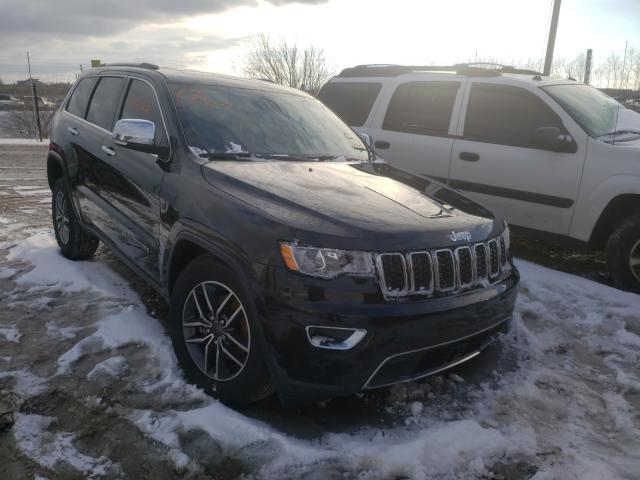 Salvage cars for sale from Copart Indianapolis, IN: 2020 Jeep Grand Cherokee
