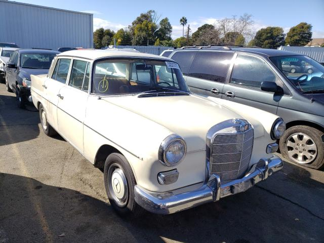 Mercedes-Benz salvage cars for sale: 1967 Mercedes-Benz 200D