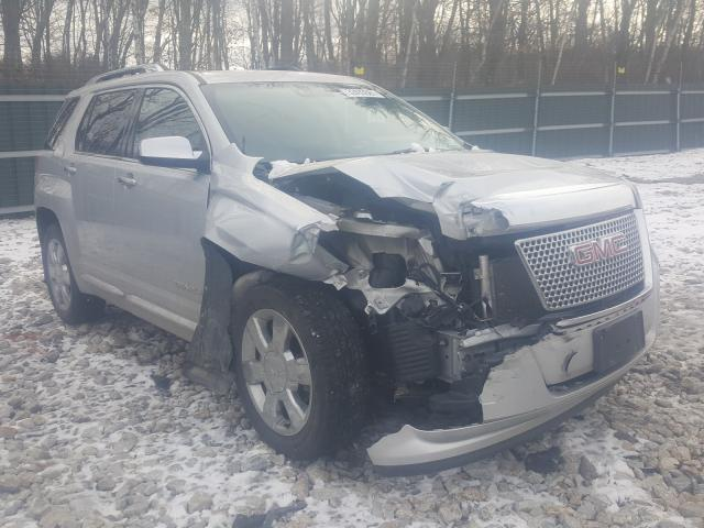 Salvage cars for sale from Copart Candia, NH: 2014 GMC Terrain DE