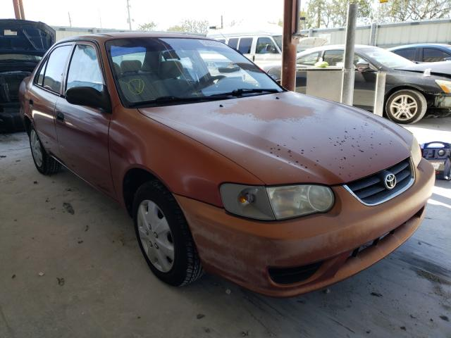 Salvage cars for sale from Copart Homestead, FL: 2001 Toyota Corolla