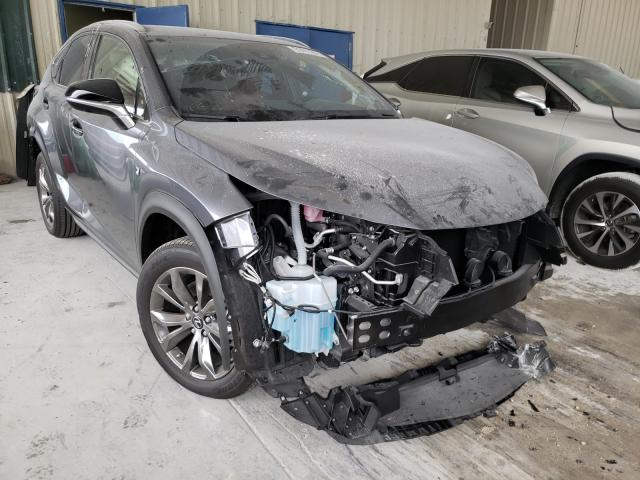 Salvage cars for sale from Copart Homestead, FL: 2020 Lexus NX 300 F-S