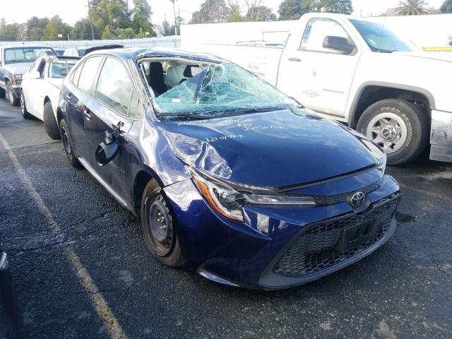 Salvage cars for sale from Copart Vallejo, CA: 2020 Toyota Corolla LE