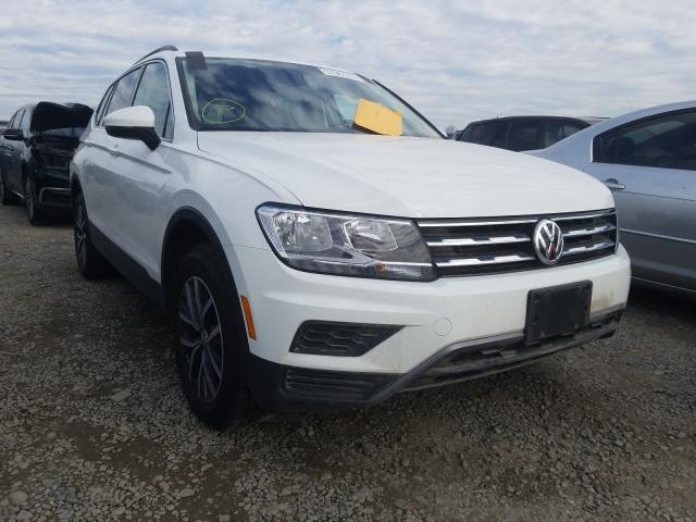 Salvage cars for sale from Copart Sacramento, CA: 2019 Volkswagen Tiguan SE