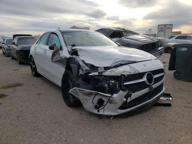 Mercedes-Benz A 220 salvage cars for sale: 2021 Mercedes-Benz A 220