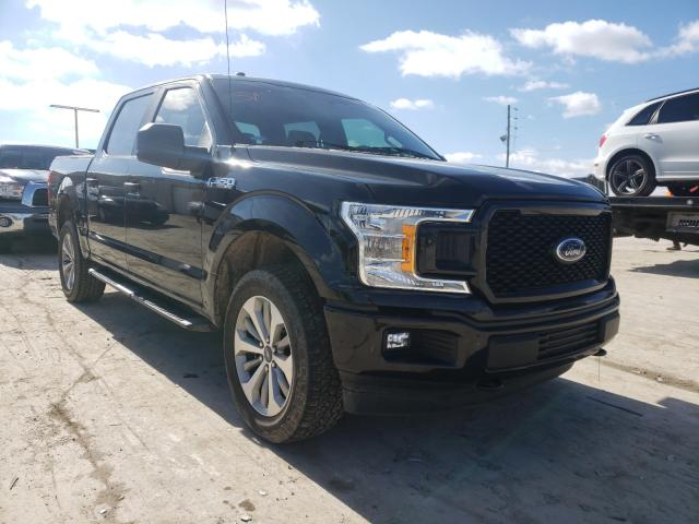 Salvage cars for sale from Copart Lebanon, TN: 2018 Ford F150 Super