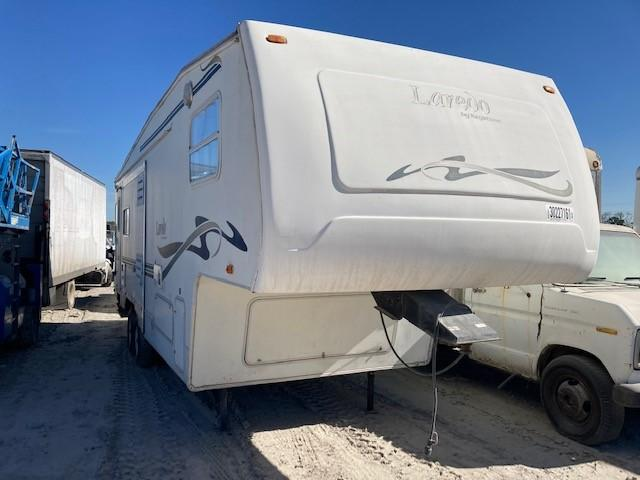 Keystone Laredo salvage cars for sale: 2002 Keystone Laredo