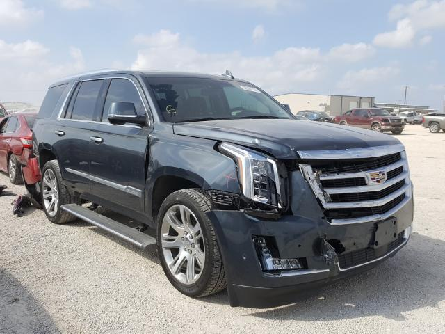 Salvage cars for sale from Copart San Antonio, TX: 2019 Cadillac Escalade P