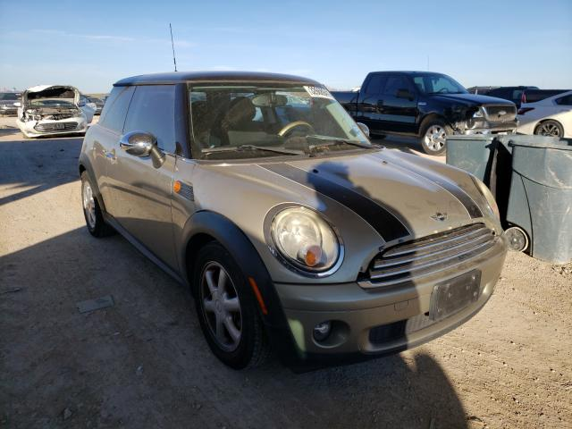 Salvage cars for sale from Copart Temple, TX: 2009 Mini Cooper