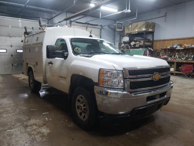 Salvage cars for sale from Copart Kincheloe, MI: 2014 Chevrolet Silverado