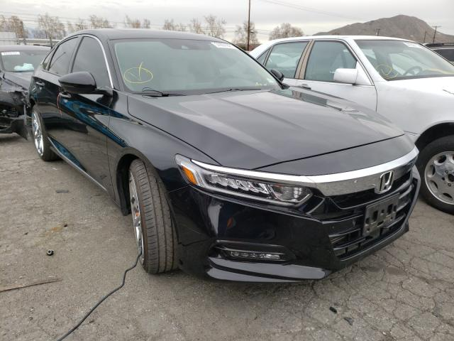 Salvage cars for sale from Copart Colton, CA: 2018 Honda Accord EXL