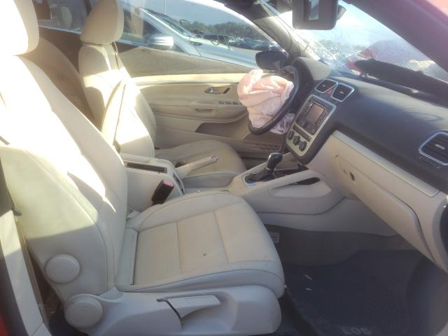 пригнать из сша 2016 Volkswagen Eos Komfor 2  L WVWBW8AHXGV000899