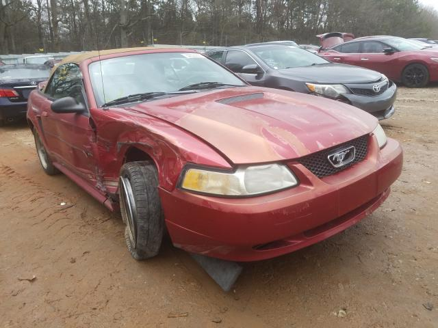 Vehiculos salvage en venta de Copart Austell, GA: 2000 Ford Mustang