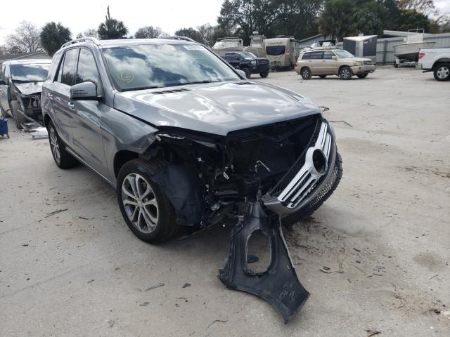 Salvage cars for sale from Copart Punta Gorda, FL: 2016 Mercedes-Benz GLE 350