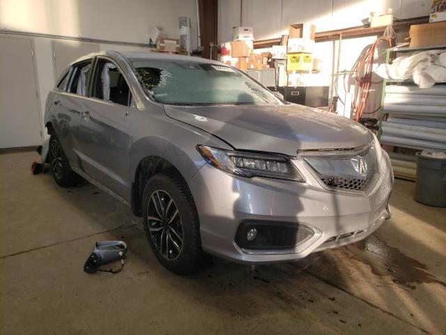 Salvage cars for sale from Copart Nisku, AB: 2017 Acura RDX Advance