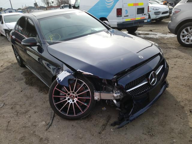Mercedes-Benz salvage cars for sale: 2020 Mercedes-Benz C300