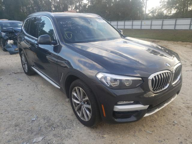 Salvage cars for sale from Copart Ocala, FL: 2019 BMW X3 SDRIVE3