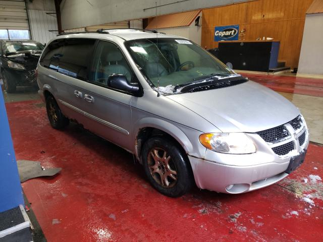 Salvage cars for sale from Copart Angola, NY: 2002 Dodge Grand Caravan