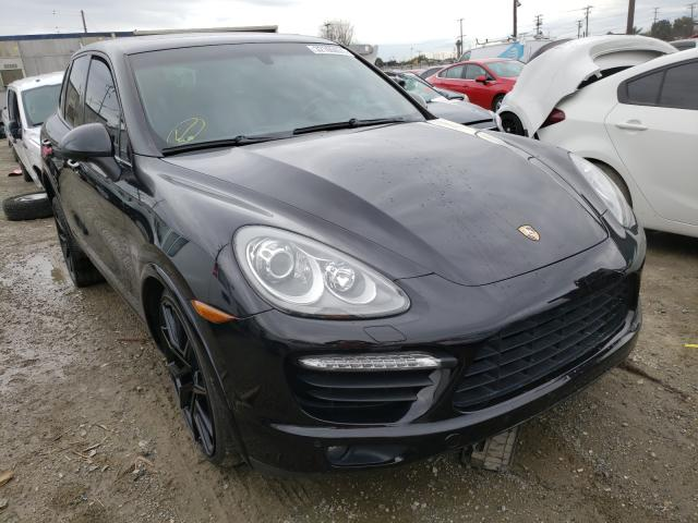 Salvage cars for sale from Copart Los Angeles, CA: 2014 Porsche Cayenne TU
